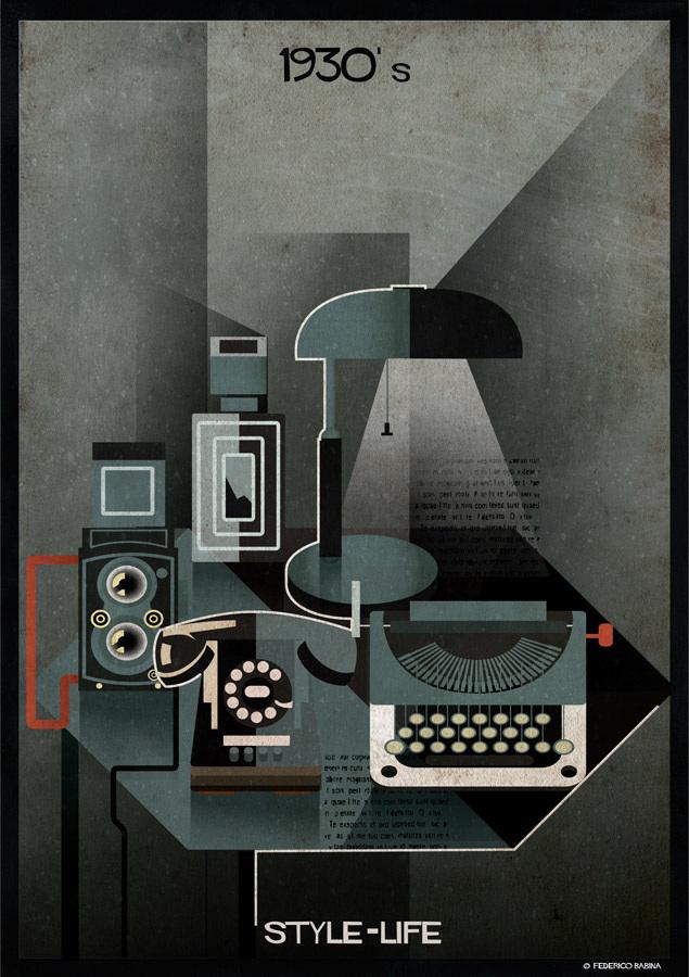 Federico Babina - 1930's, STYLE-LIFE