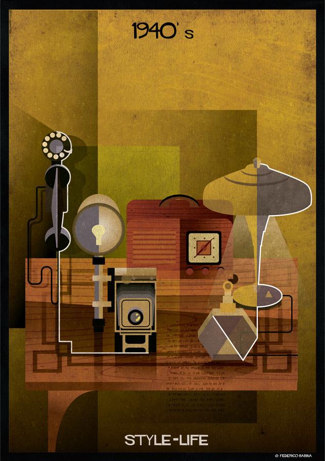 Federico Babina - 1940's, STYLE-LIFE