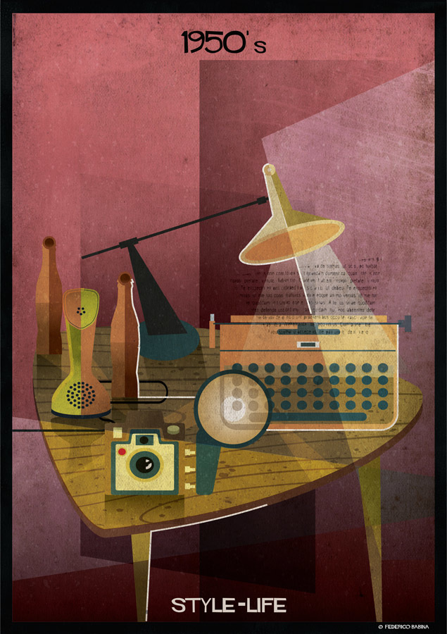 Federico Babina - 1950's, STYLE-LIFE