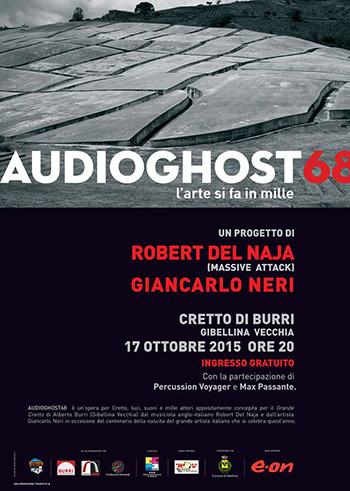 AUDIOGHOST68 - L'arte si fa in mille di Robert Del Naja e Giancarlo Neri