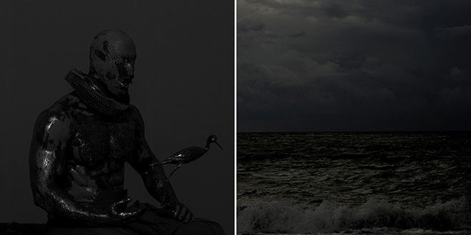 mustafa sabbagh, onore al nero _ untitled, 2015 dittico, stampa fotografica lambda su dibond ed. di 5 + 1 pa © mustafa sabbagh