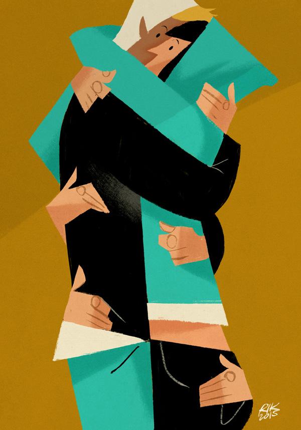 "Riccardo Guasco - ""Hugs"" - Personal Work, 2015"