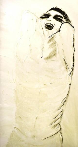 Valeria Catania - Panico, 2010 Tecnica mista, 70x120 cm