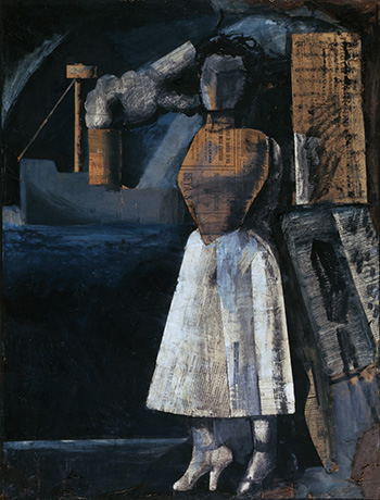 Mario Sironi - Venere dei porti, 1919