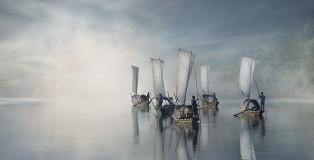 Vladimir Proshin (RUSSIA) - On the river, Lishui (China) - 2013. SIENA PHOTOGRAPHER OF THE YEAR 2015