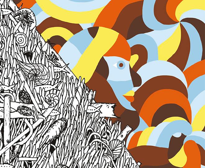 """AGGLOMERATI"" – Geometric Bang & Crisa Art Exhibition"