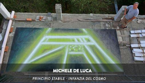Michele De Luca: Principio stabile - Infanzia del Cosmo