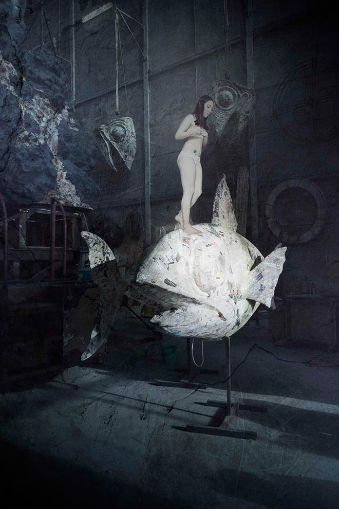 Dorian Rex - Pesce, 70x100 - fotomanipolazione