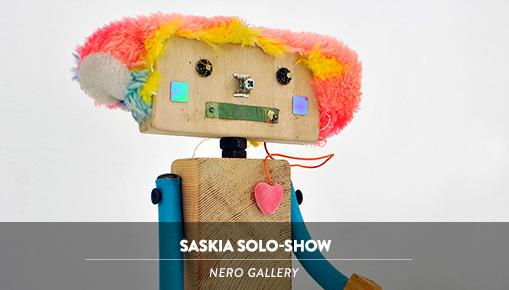 Saskia solo-show - Nero gallery