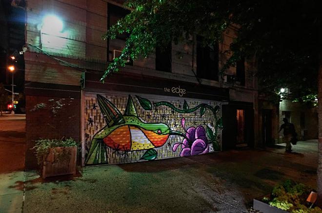 Sockychop - Allen's Hummingbird, The Audubon Mural Project, New York