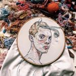 Lisa Smirnova – Ritratti con ago e filo