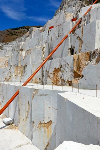 Alberto Timossi - llusione, Cave Michelangelo, Carrara - 2015