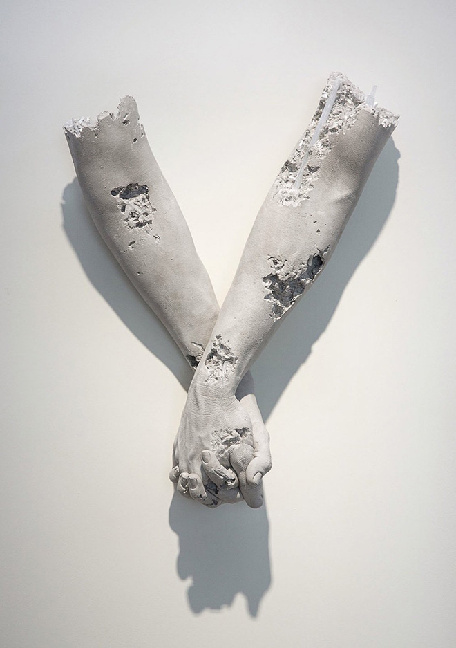 Daniel Arsham - Fictional Archeology at Galerie Perrotin Hong Kong, 2015