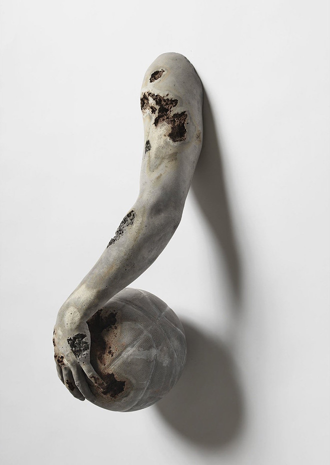 Daniel Arsham - Fictional Archeology at Galerie Perrotin Hong Kong, 2015