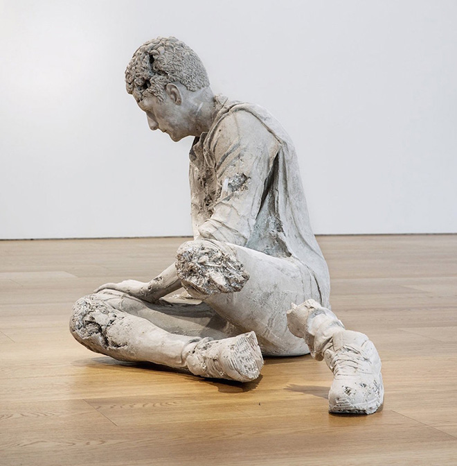 Daniel Arsham - The Dying Gaul Revisited, 2015
