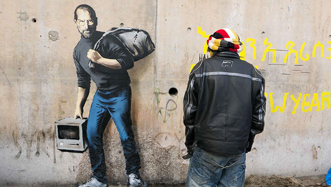 Banksy - The son of a migrant from Syria