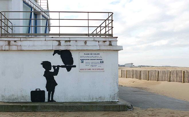 Banksy - Street art, Calais