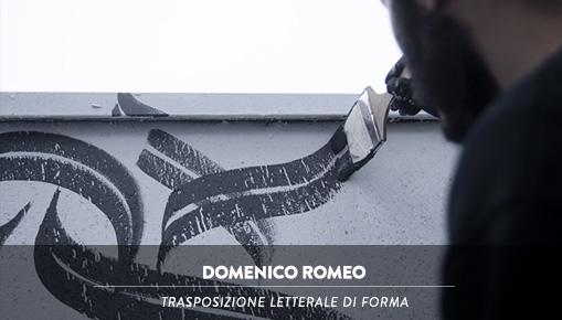 Domenico Romeo - Trasposizione letterale di forma