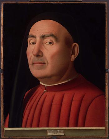 Ritratto d'uomo - Antonello Da Messina, 1476
