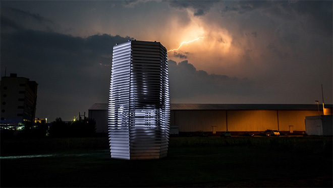 Daan Roosegaarde - The smog free project