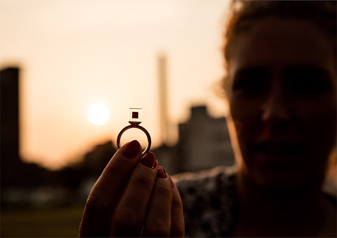 Daan Roosegaarde - The smog free project, Smog Free Ring