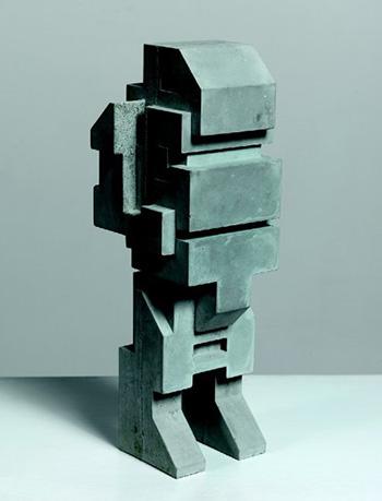 Boris Tellegen a.k.a. DELTA (NL) - A Concrete Toy, 2015, cemento stampato