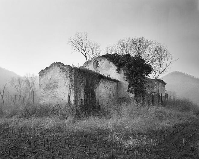 Marco Maria Zanin - Montegrotto, Padova, Cattedrali Rurali - 120x150 cm