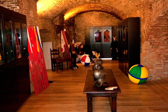 Sala Costumi BrunoCrociani - Terre di Siena