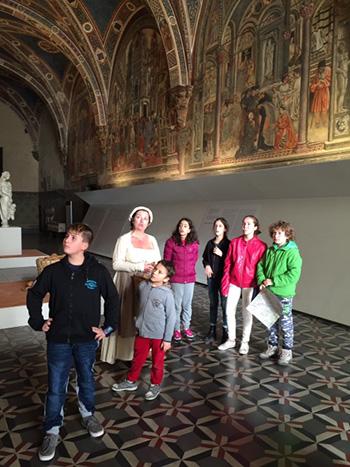 #SienaFrancigenaKids - Santa Maria della Scala