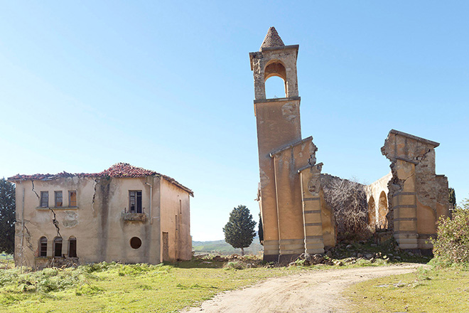 Silvia Camporesi - Veduta / View Borgo Giuliano (Sicilia), Atlas Italiae, 2015