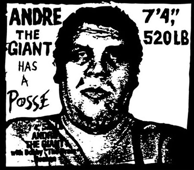 Shepard Fairey - Andrè the Giant Has a Posse