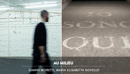 AU MILIEU - Gianni Moretti, Maria Elisabetta Novello