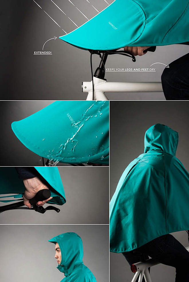 Boncho - The Bike poncho
