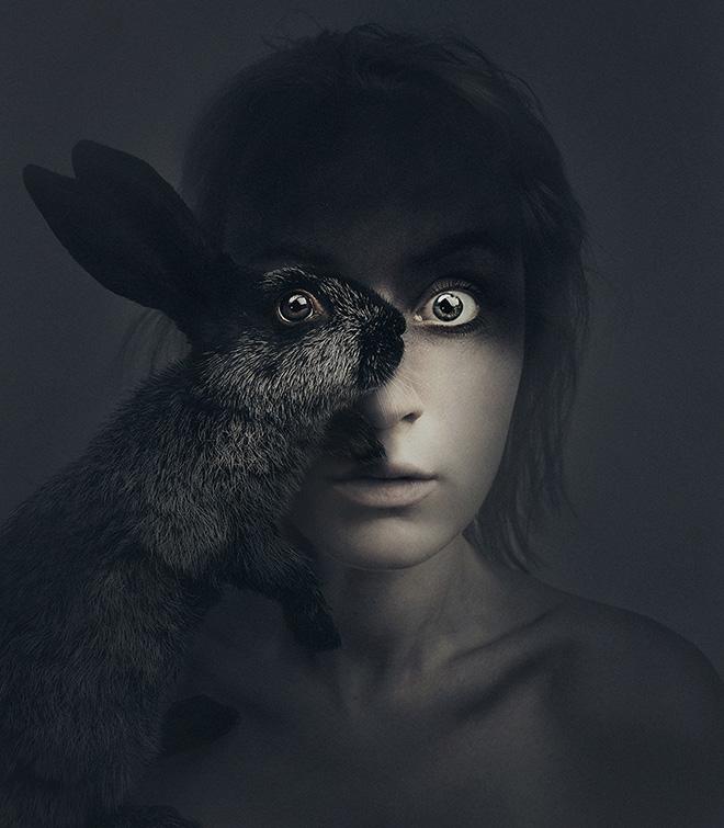 Flora Borsi - Animeyed (Self-Portraits)