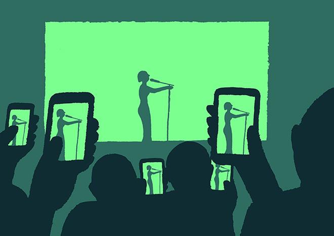 Jean Jullien - Technology addiction - Technology addiction