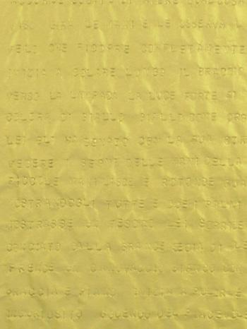 Gianni Moretti - Secondo esercizio di approssimazione al grande amore, 2014, dettaglio