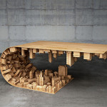 Wave City Coffee Table – Design by Stelios Mousarris