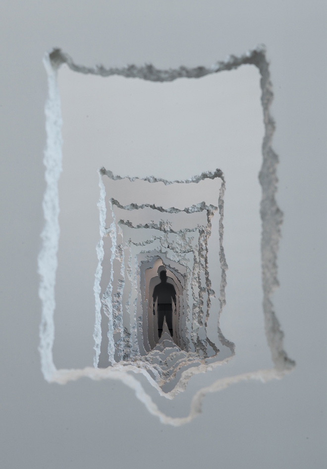 Daniel Arsham – Wall Excavation