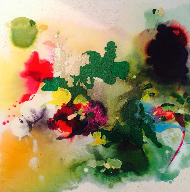Yassine Mekhnache - Untitled, 70x70 cm - VIS-À-VIS