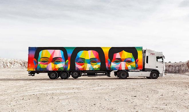 Truck art project – L' arte corre sulle strade