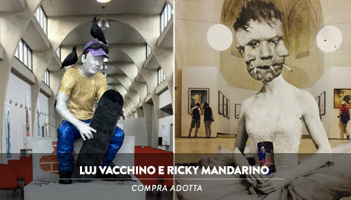 Luj Vacchino e Ricky Mandarino - COMPRA ADOTTA