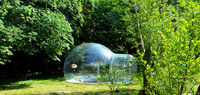 Holleyweb - Bubble Tent
