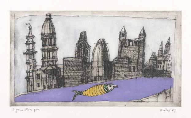 Aldo Rossi - La finestra del poeta, Opera Grafica 1973-1997