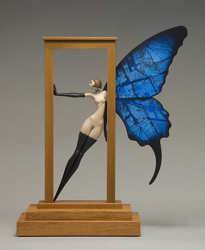John Morris – Sculture surreali