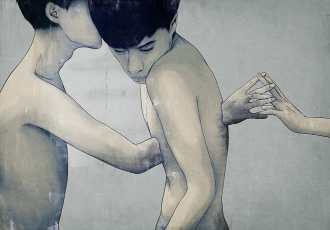 Mojo Wang – Poesia grafica