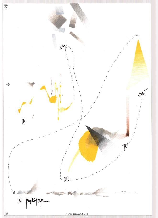 Daniele Lombardi - Una tavola di Divina.com, 2004