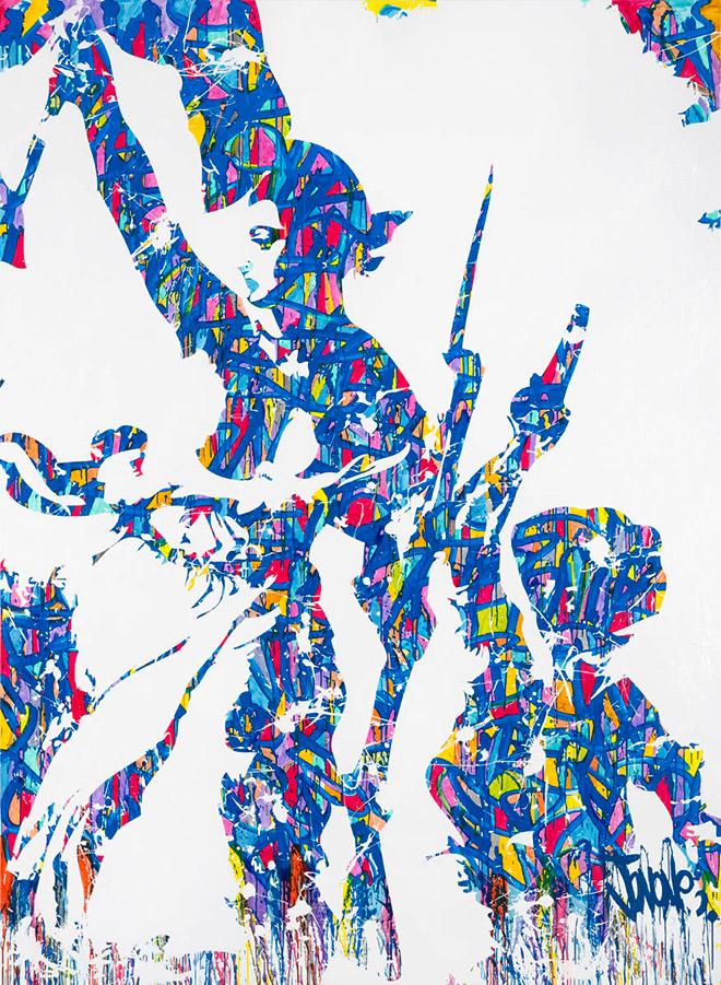 JonOne - Assemble nationale Liberté, Égalité