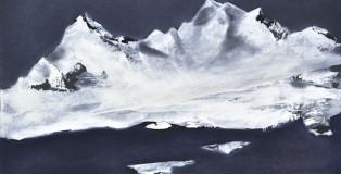 Verena D'Alessandro - Notturno n-1, olio su cartoncino, cm 21x30, 2014
