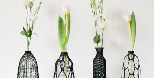 Libero Rutilo - 3D Printed vases collection