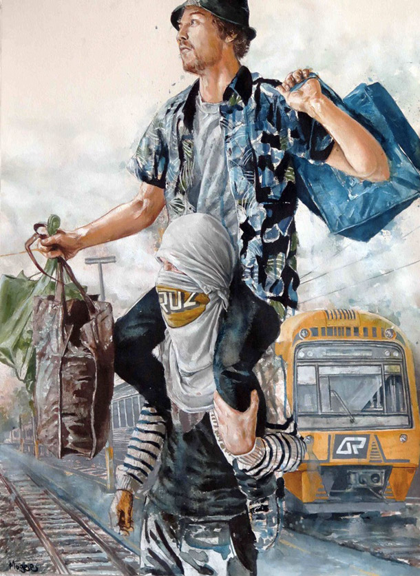 ©Fintan Magee - The Vandals, 2016